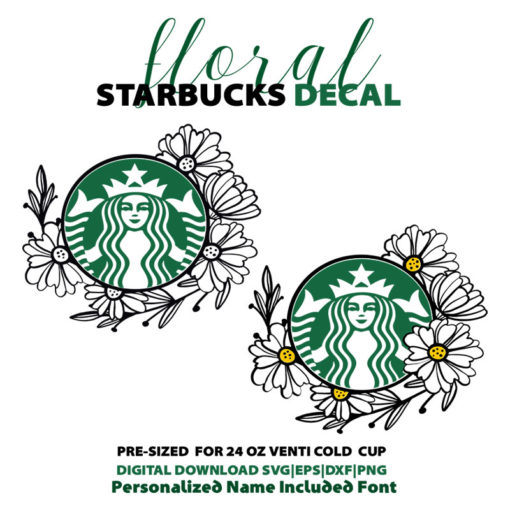 Floral circle for starbuck