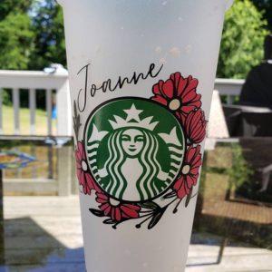 Starbucks Floral SVG 10 1