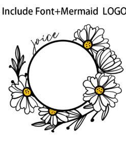 Starbucks Floral SVG 6