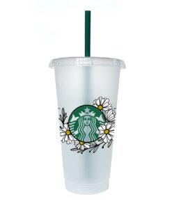 Starbucks Floral SVG 7