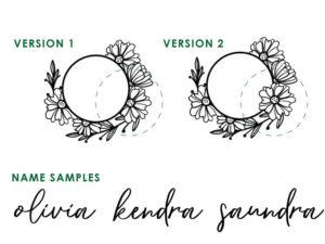 Starbucks Floral SVG 9