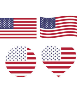 American Flag Svg Free