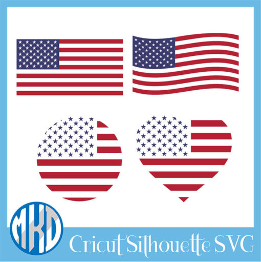American Flag Svg Free 5 1