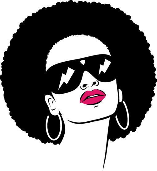 Black Woman Svg Free 3