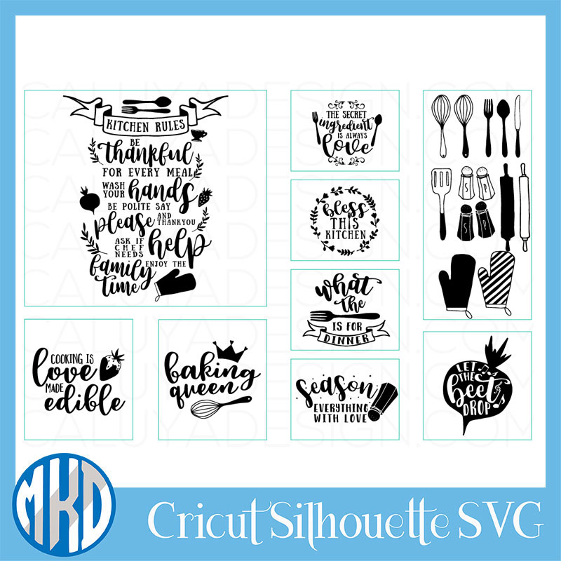 Kitchen Svg Free 8