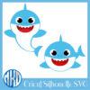 Baby Shark Svg Free,Free Baby Shark Svg,Free Baby Shark Svg,Cricut Cut File,Cricut Silhouette Cameo