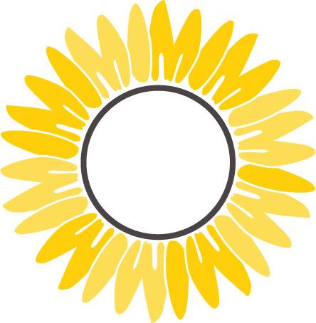 free sunflower svg 2