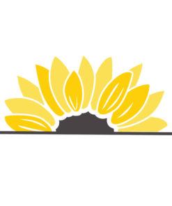 free sunflower svg 3
