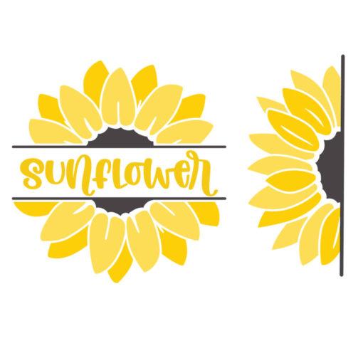 free sunflower svg 4