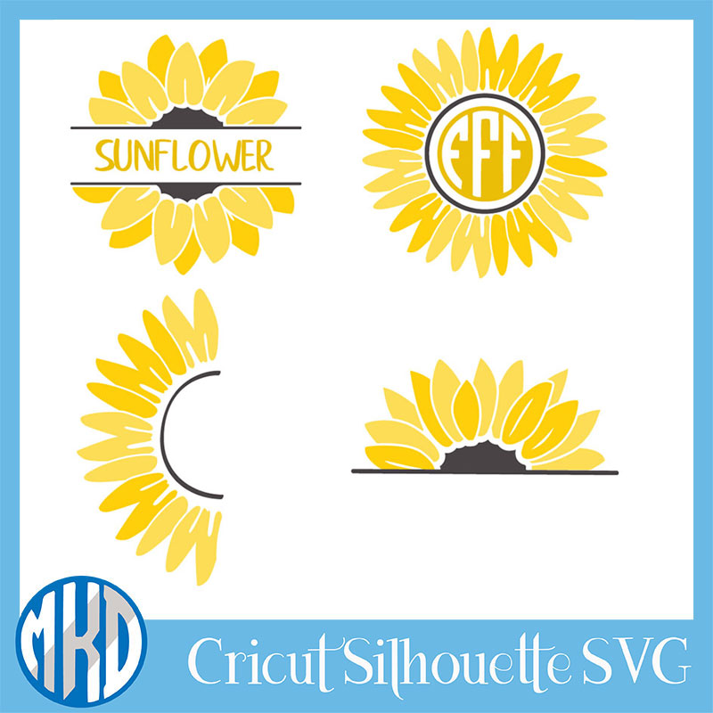 free sunflower svg 6