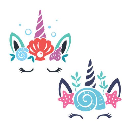 unicorn head svg