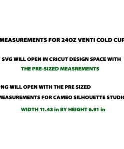 MEASUREMENTS coldcup