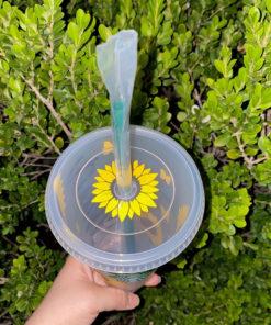 sunflower butterfly 10 2