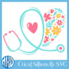 Floral Stethoscope 3