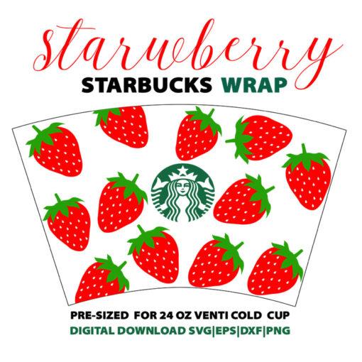 full wrap Strawberry