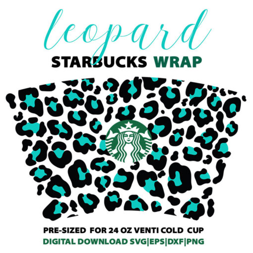 full wrap leopard