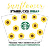sunflower full wrap
