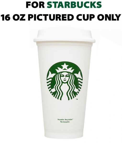 Template 16 oz Starbucks Hot Cup 1