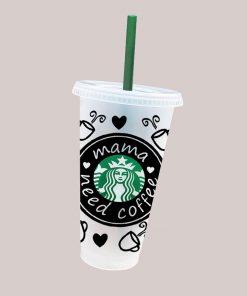 mama needs coffee full wrap starbucks cold