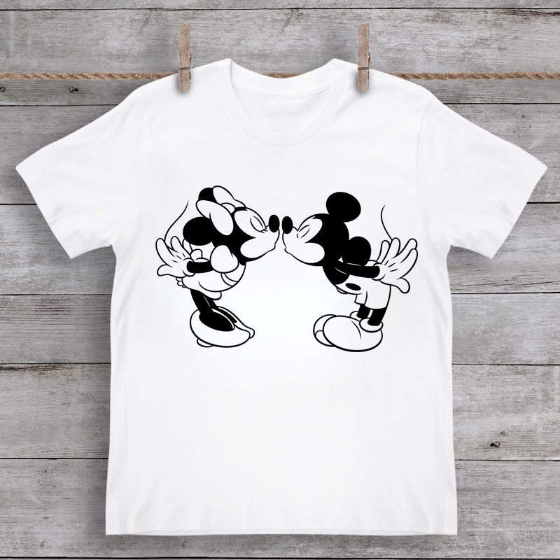 minnie and mickey mouse svg