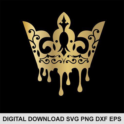 Queen crown SVG
