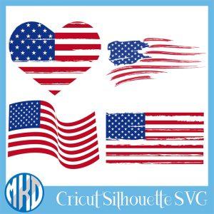 free Distressed Flag svg