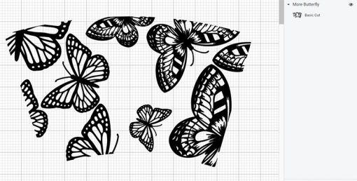 more butterfly full wrap starbucks svg layer