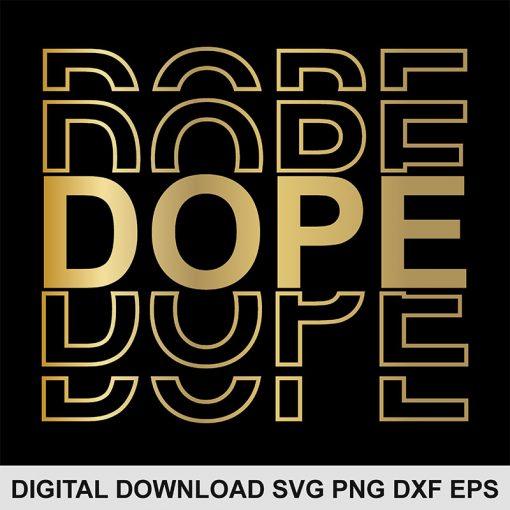 Dope svg file 1