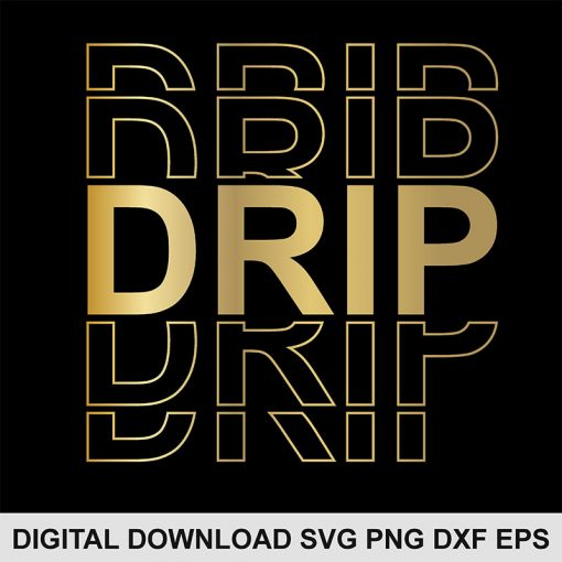 Drip svg file 1