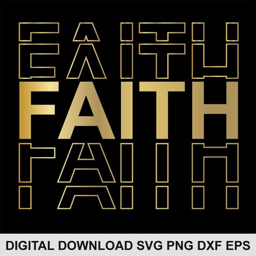 Faith svg file 1