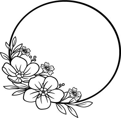 Floral svg png bundle 4
