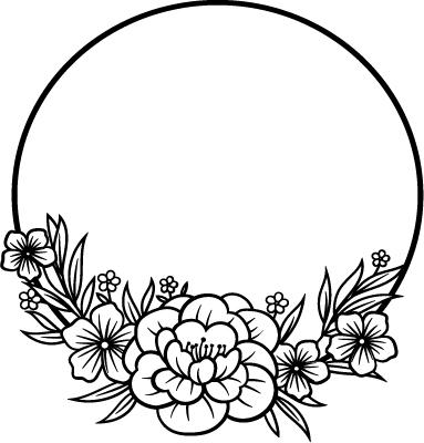 Floral svg png bundle 5