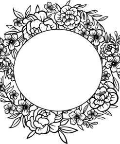 Floral svg png bundle 6