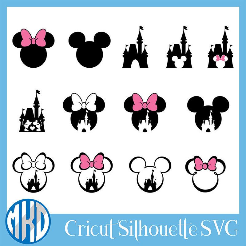 Mickey mouse svg main free