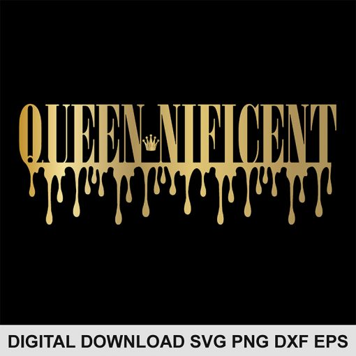 QUEEN nificent svg