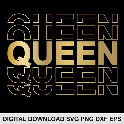 Queen svg file