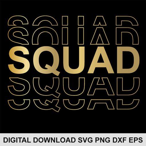 Squad svg file 1