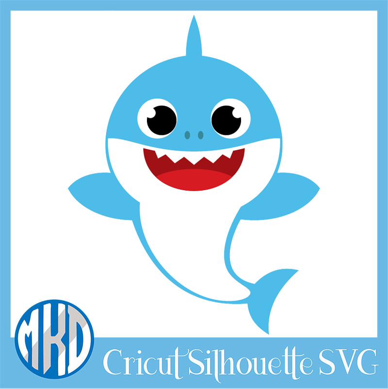 baby shark svg free