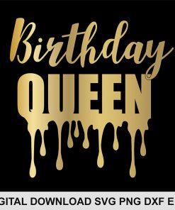 birthday queen svg FILE