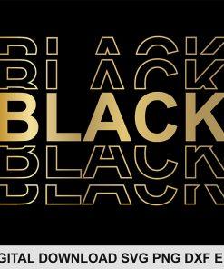 black SVG png