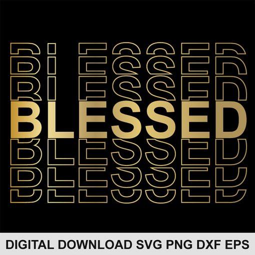 blessed SVG file