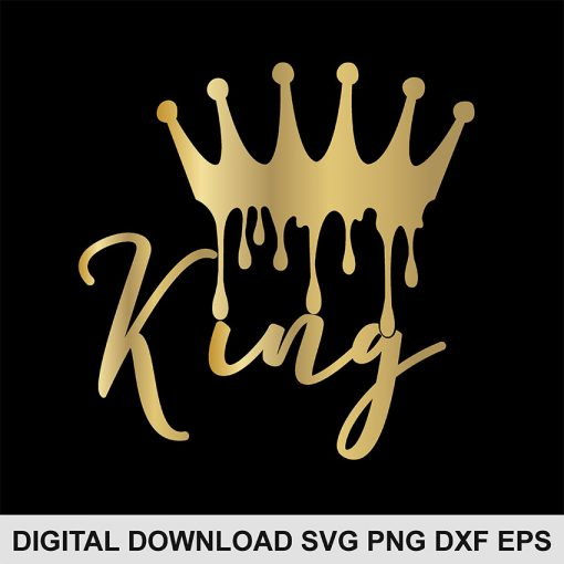 king crown font svg