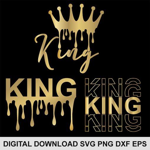 king svg bundle