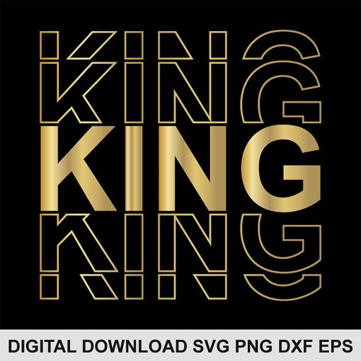 king svg file 1
