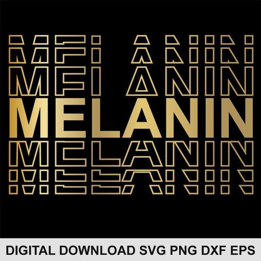 melanin svg file 1
