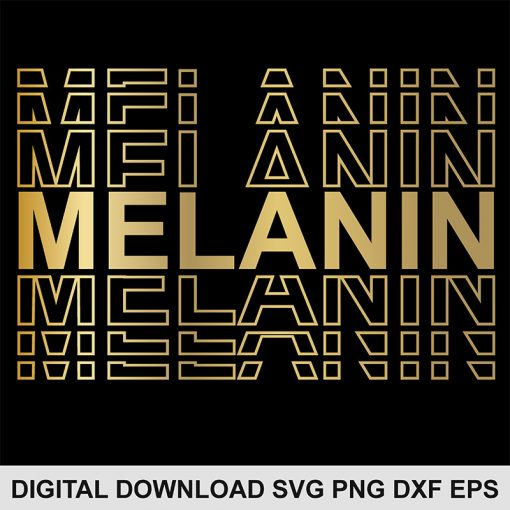 melanin svg file