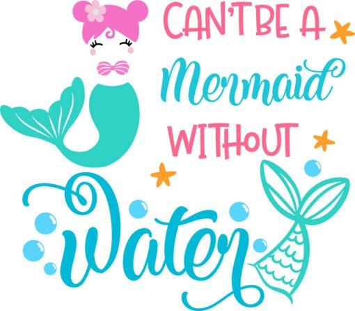 mermaid water tracker svg 2