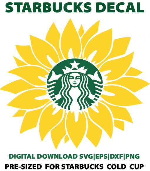 sunflower svg cold cup 2