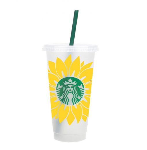 sunflower svg cold cup 3