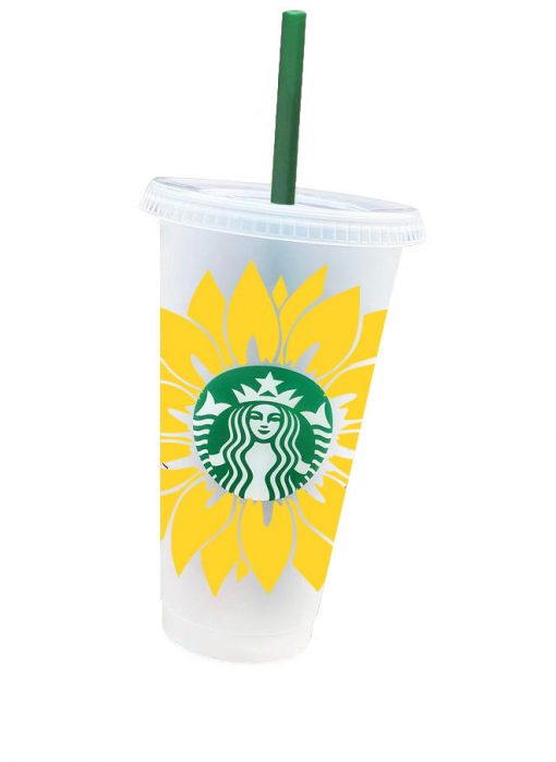 sunflower svg cold cup 4